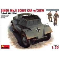 1:35 MiniArt DINGO Mk.II SCOUT CAR w/CREW